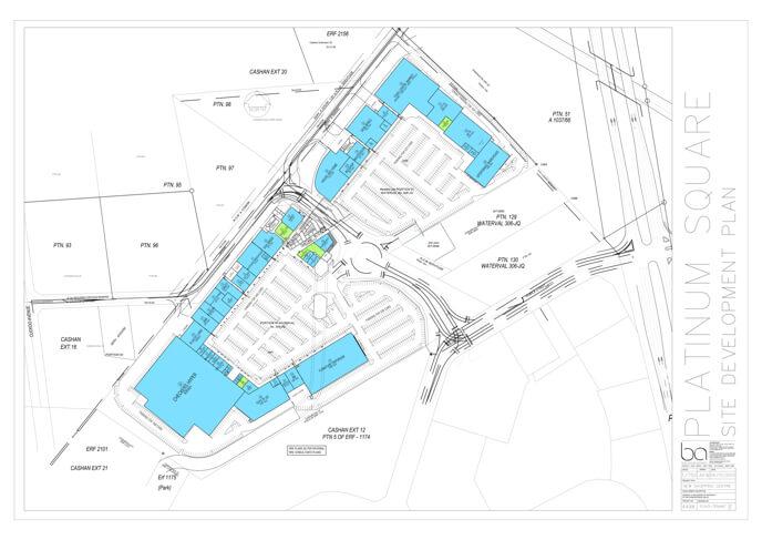 Floor plan of Platinum Square in Rustenburg
