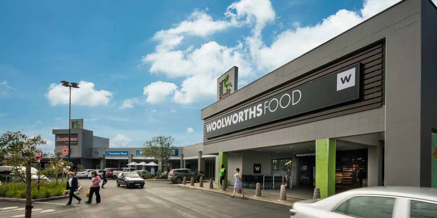 Woolworths Food entrance at Rynfield Square in Benoni