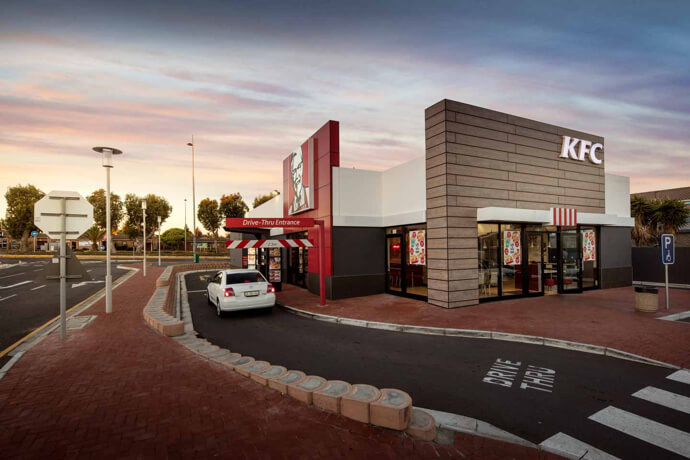 KFC at Flamingo Square in Table View