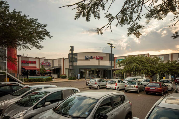 PnP entrance at Northcliff Square in Johannesburg