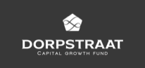 Black and white logo of Dorpstraat Capital Growth Fund